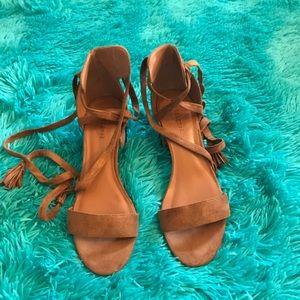 indigo rd. Shoes - indigo rd. brown strap sandals 7.5 M EUC